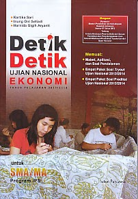 toko buku rahma: buku DETIK-DETIK UJIAN NASIONAL EKONOMI TAHUN PELAJARAN 2013/2014 (UNTUK IPS) , pengarang agung feryanto, penerbit intan pariwara