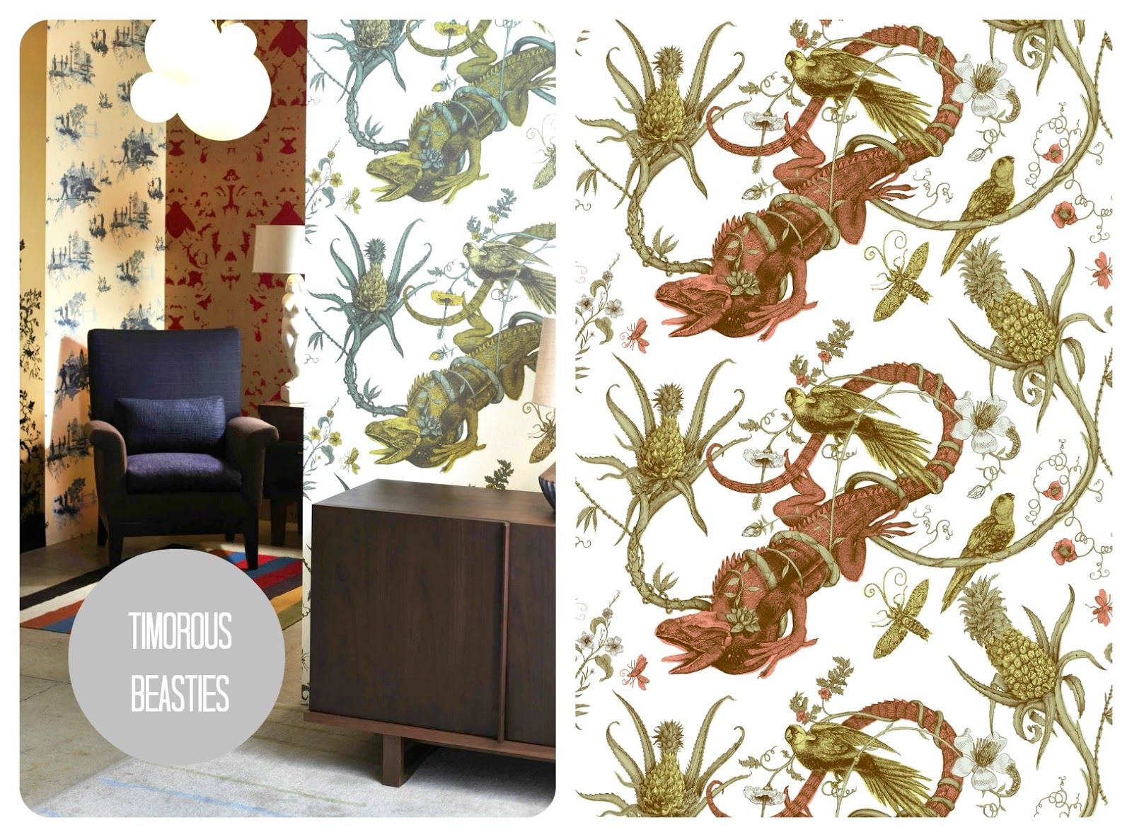 Wallpaper Timorous Beasties