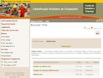 Classificação Brasileira de Ocupações (CBO)