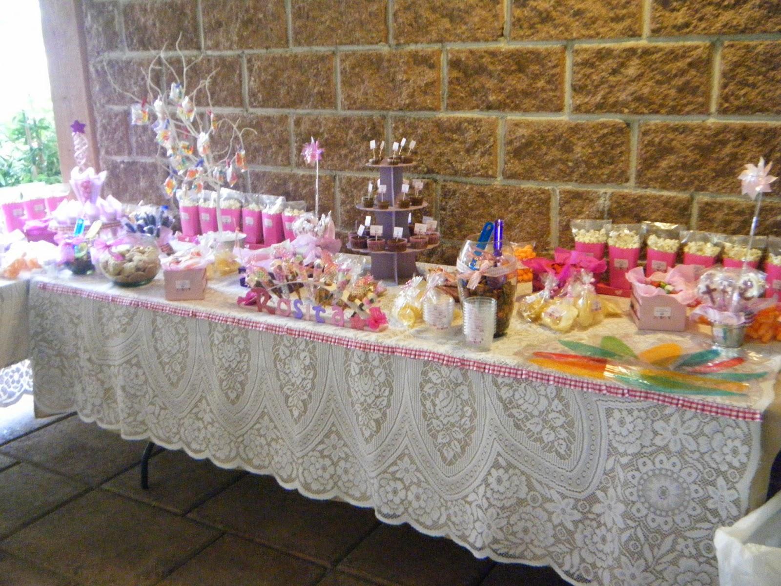 Creaciones d anna mesas de dulces for Mesas dulces comunion nina