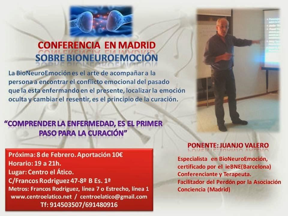 Conferencia en Madrid 8 de Febrero 2014