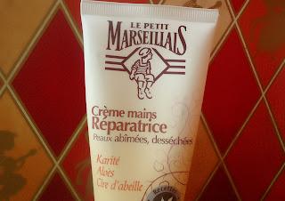 Crème mains réparatrices le petit marseillais