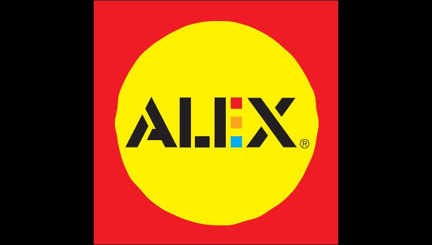 Znalezione obrazy dla zapytania ALEX LOGO