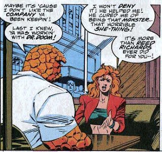 Thing Sharon Ventura Fantastic Four