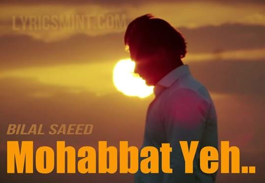 Mohabbat Yeh from Ishqedarriyaan