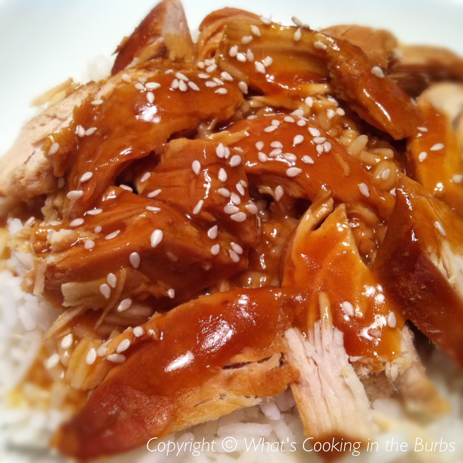 What's Cooking in the Burbs: Slow Cooker Sesame Orange Chicken