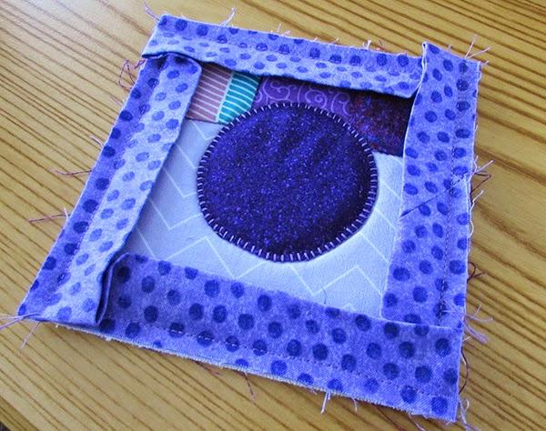 binding on the instagram mug mat