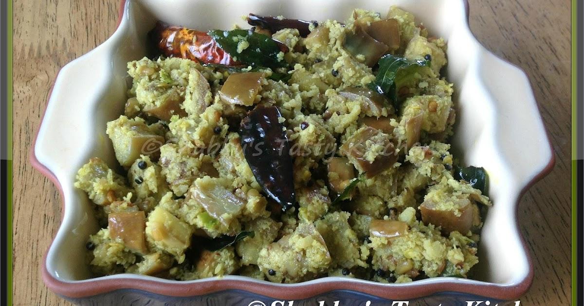 Shabbu's Tasty Kitchen: Brinjal Thoran