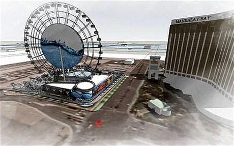 high roller ferris wheel cost