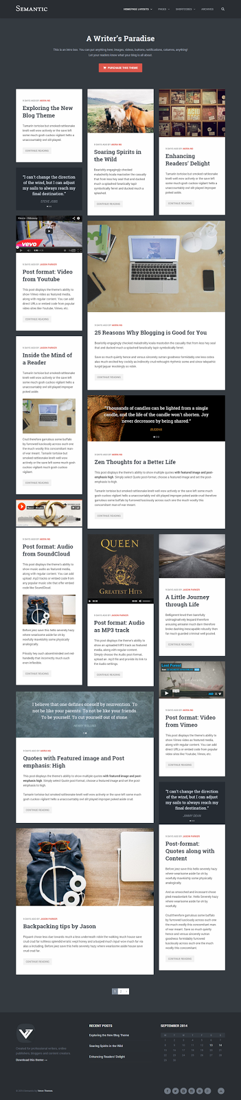 Responsive WordPress Theme for Blogger