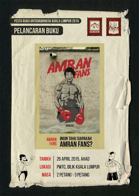 Buku Amran Fans Laris, Siapa Amran Fans Hampir Terjawab ..