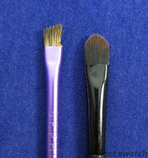 Sephora brow brush, Maybelline cream eyeshadow brush