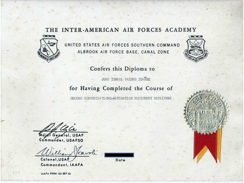 Meus Certificados da US AIR FORCE