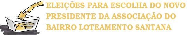 Bebeto e Vadeildo, disputam neste domingo as eleições da presidência da associação de moradores do Loteamento Santana