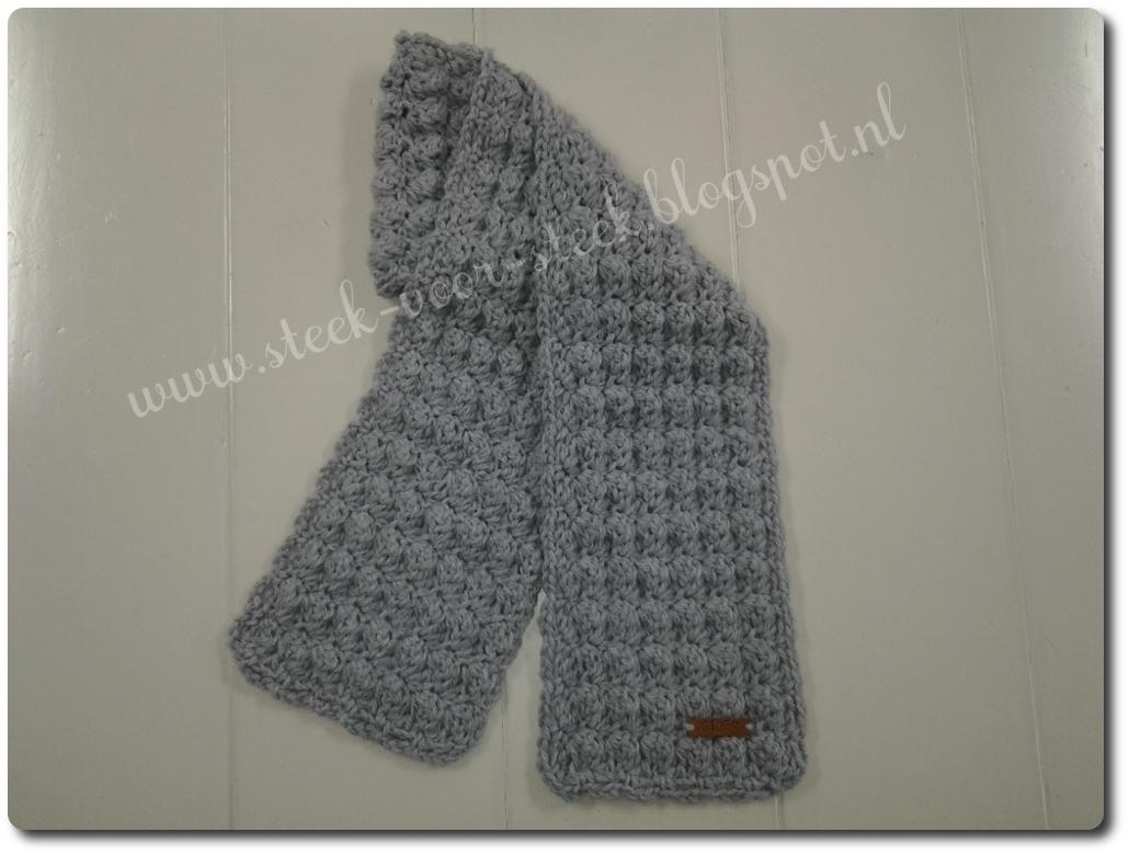 Steek Voor Steek Stoere Sjaal