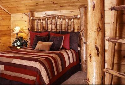 foto dormitorio rústico