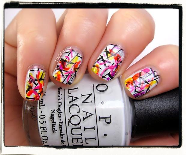snb graffiti nails - nailderella