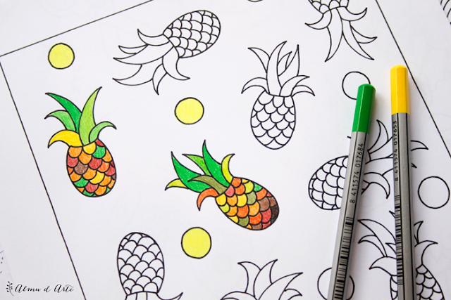 ilustraciones para descargar y colorear