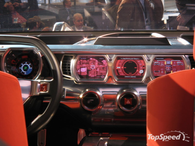 2008 Hummer Hx Concept Interior Pictures Gallery Amazing