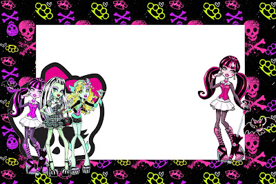 Monster High Free Printable Party Invitations – Monster High Birthday Invitations
