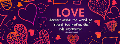 Valentines Day 2016 Facebook Covers with Quotes