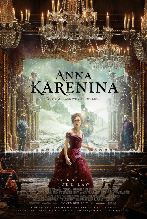 Anna Karenina 2012 movie poster