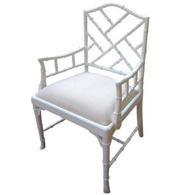 black and white the chinese chippendale chair