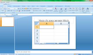 Insertar hojas de cálculo de Excel en PowerPoint