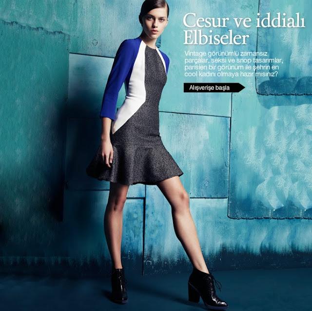 Twist Elbise Modelleri