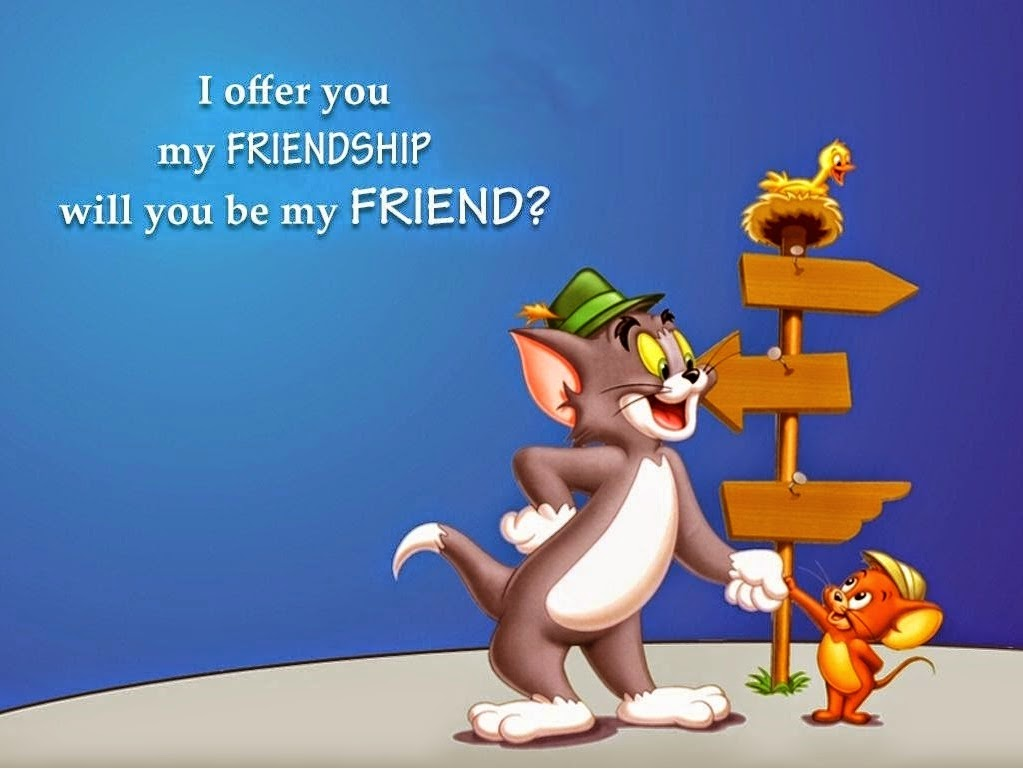 Happy Friendship Day 2014 Creative Amazing Animated ... Animated Friendship Wallpapers