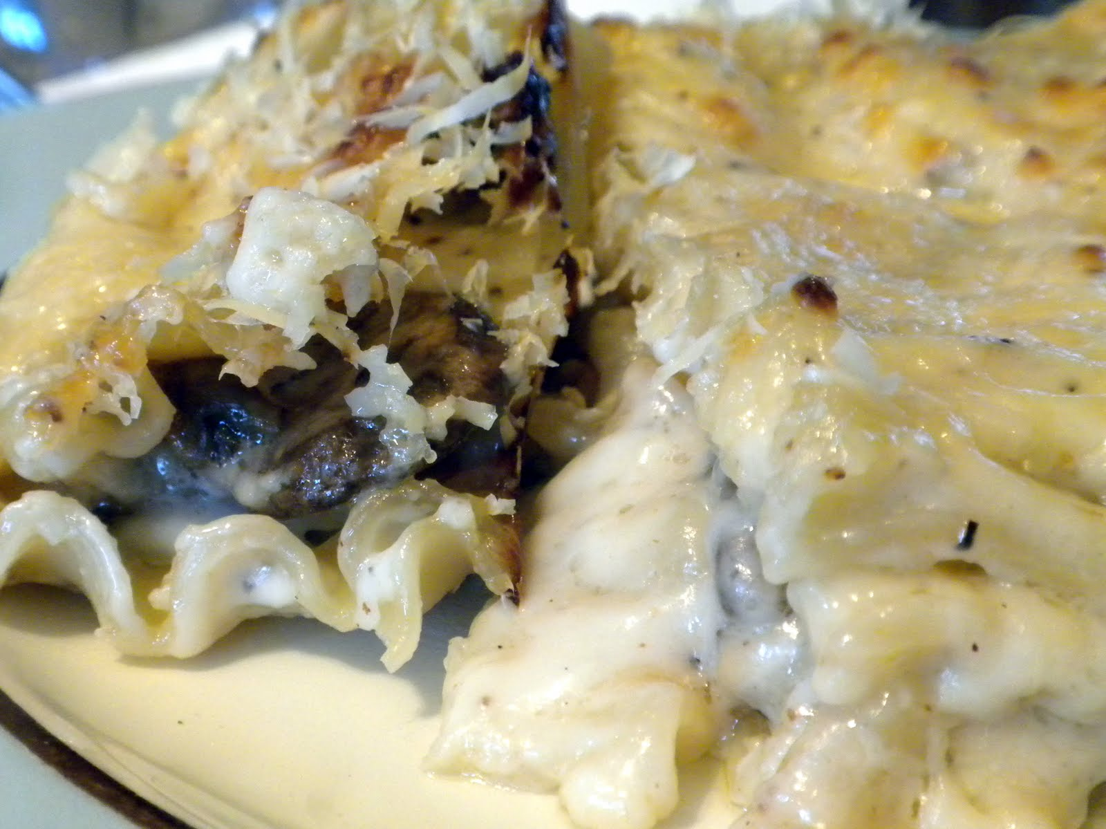Ina Garten Macaroni And Cheese one couple's kitchen: wild mushroom lasagna