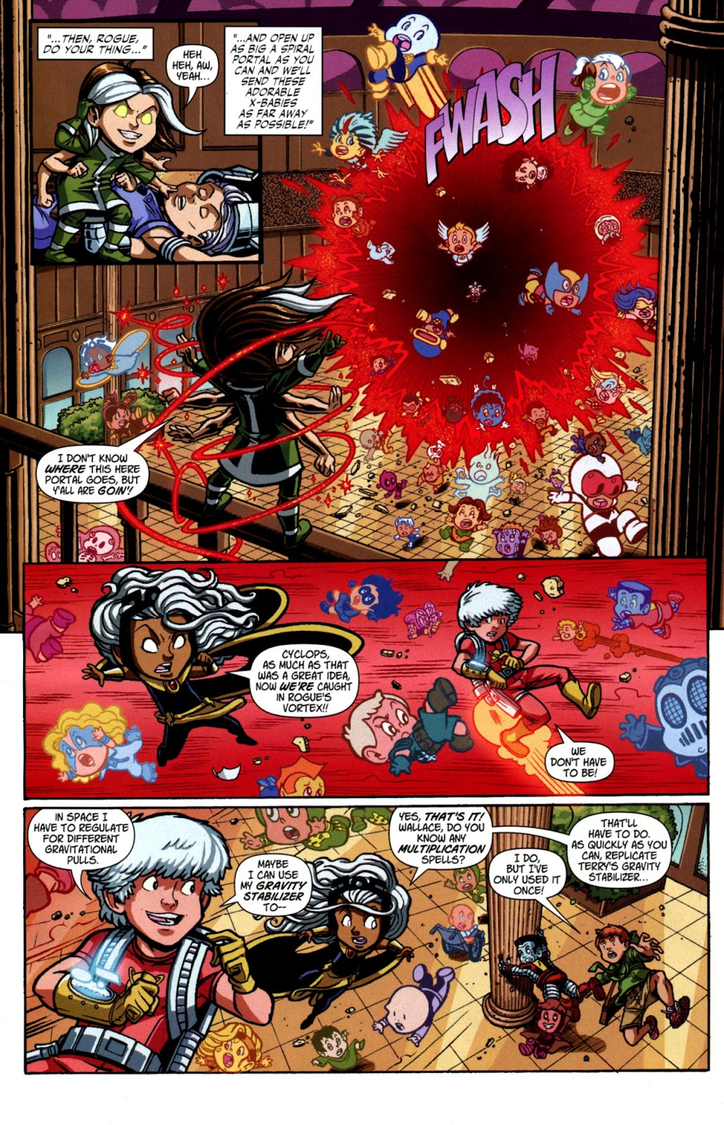 Read online X-Babies comic -  Issue #4 - 13