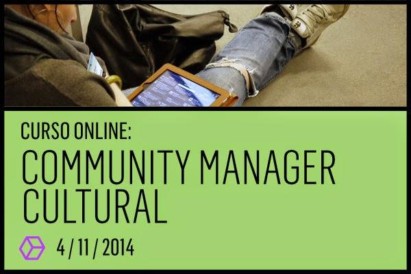 """Docente en """"Community Manager Cultural"""""""