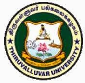 Thiruvalluvar University Time Table 2016