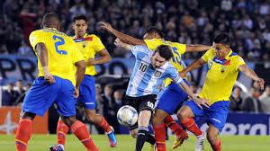 Argentina vs Ecuador, partido amistoso