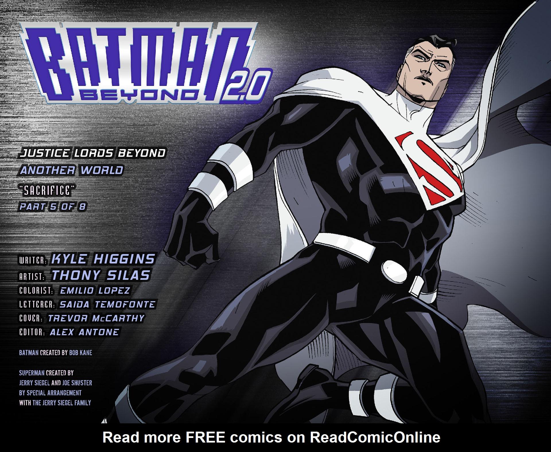 Batman Beyond 2.0 Issue #21 #21 - English 2