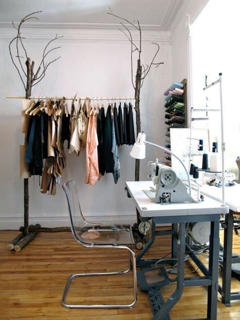 Super état de nature: Aménager son espace de travail: un atelier couture EP06