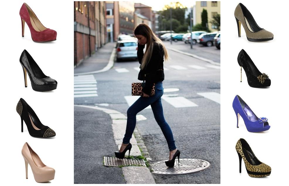 Con ShoesCaminar ShoesCaminar Con Altos Golden Golden Tacones vbg76Yfy