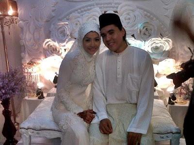 Gambar+perkahwinan+Chef+Riz+dan+Ana+Dahlia