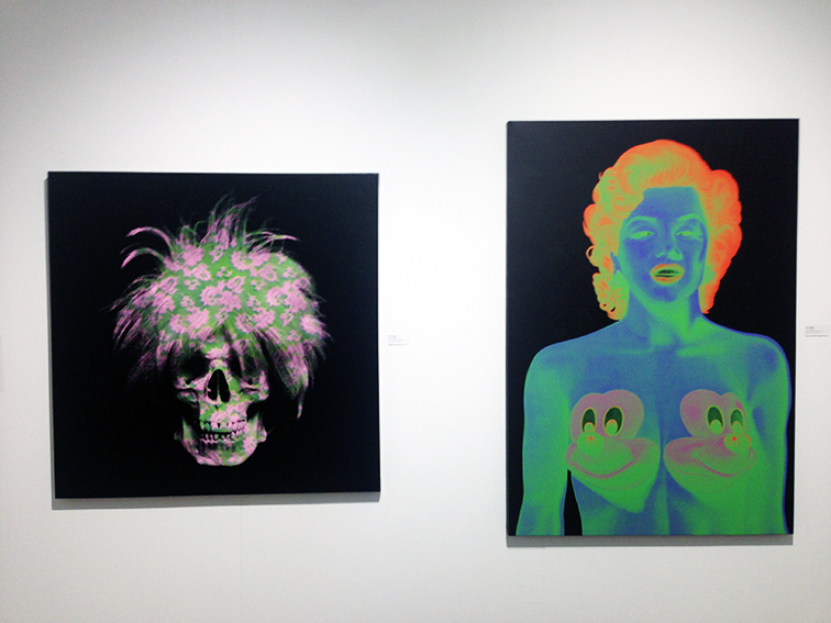 Pieces by Ron English at Miami Art Basel 2014