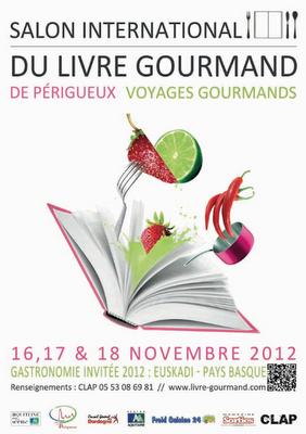 12ème édition du Salon International du Livre Gourmand à périgueux