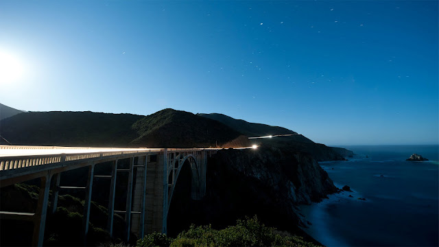 Bixby Creek Bridge Big Sur HD Wallpaper