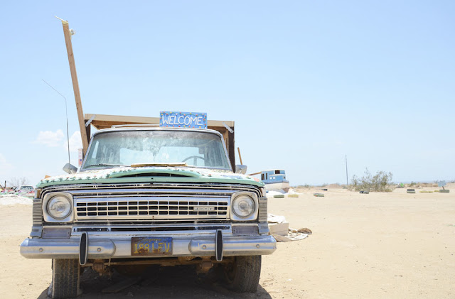 Salvation Mountain, Niland, Salton Sea, Californie, USA