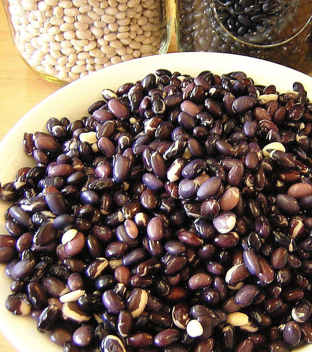 how to cook soaked black beans
