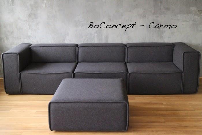 myyd n boconcept carmo sohva ja rahi local artisan. Black Bedroom Furniture Sets. Home Design Ideas