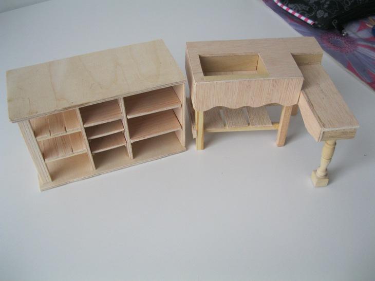 Mi mundo en miniatura muebles de cocina for Manualidades de muebles