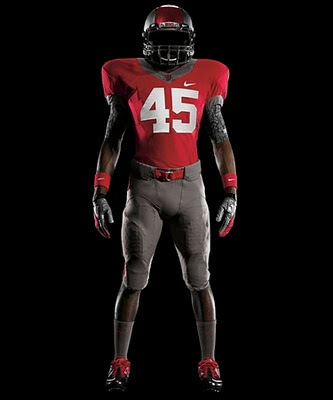 Ohio State's new Nike Pro Combat uniform looks sad.