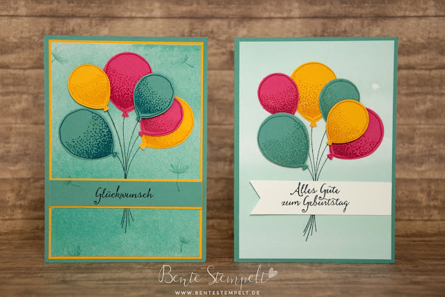 Stampin' Up! Partyballons Luftballons Designerpapier Kunstvoll Kreiert Sale-A-Bration 2016 SAB Balloon Celebration