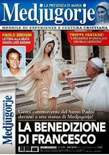 Medjugorje actualités  Pape bénit une statue de Medjugorje ,place Saint Pierre le 17 septembre 2014