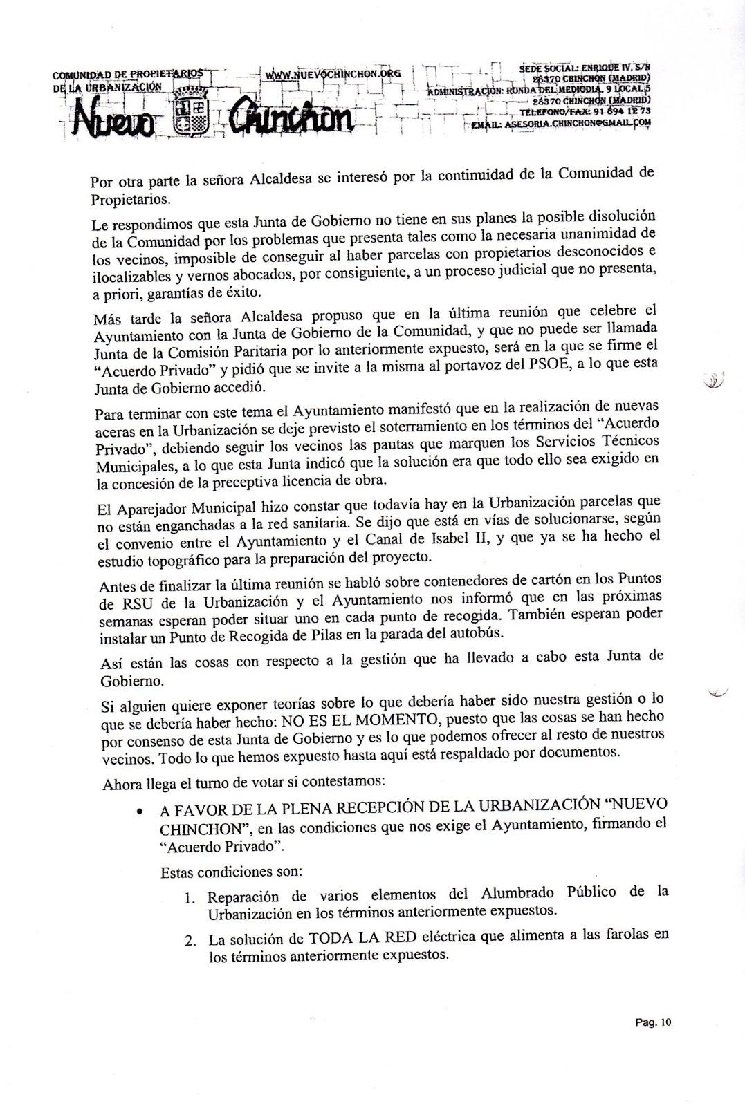 Nuevochinchon documentalia manejo de la informacion for Validez acuerdo privado clausula suelo